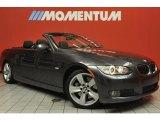 2008 Sparkling Graphite Metallic BMW 3 Series 335i Convertible #47636025