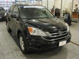 2010 Crystal Black Pearl Honda CR-V EX AWD #47705470