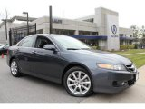 2008 Carbon Gray Pearl Acura TSX Sedan #47704866
