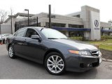 2008 Carbon Gray Pearl Acura TSX Sedan #47704876