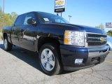 2011 Imperial Blue Metallic Chevrolet Silverado 1500 LT Crew Cab 4x4 #47705074