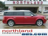 2010 Red Candy Metallic Ford Flex Limited EcoBoost AWD #47704905