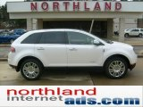 2010 White Platinum Tri-Coat Lincoln MKX AWD #47704906