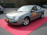 2008 Moss Green Metallic Ford Fusion SE #47704958