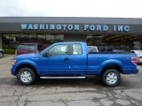 2011 Blue Flame Metallic Ford F150 STX SuperCab 4x4 #47705149