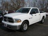 2010 Stone White Dodge Ram 1500 SLT Quad Cab 4x4 #47705584
