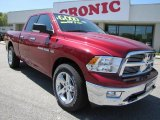 2011 Deep Cherry Red Crystal Pearl Dodge Ram 1500 Big Horn Quad Cab #47704996
