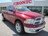 2011 Deep Cherry Red Crystal Pearl Dodge Ram 1500 Big Horn Quad Cab #47704998