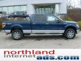 2011 Dark Blue Pearl Metallic Ford F150 XLT SuperCrew 4x4 #47704750
