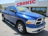 2011 Deep Water Blue Pearl Dodge Ram 1500 SLT Crew Cab #47705000