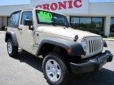 2011 Sahara Tan Jeep Wrangler Sport 4x4 #47705006