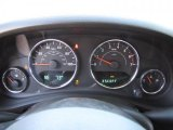 2011 Jeep Wrangler Call of Duty: Black Ops Edition 4x4 Gauges