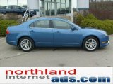 2010 Sport Blue Metallic Ford Fusion SEL #47704760
