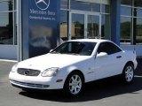 1999 Mercedes-Benz SLK Glacier White
