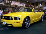 2006 Screaming Yellow Ford Mustang GT Premium Convertible #47705718