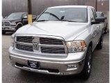 2011 Bright Silver Metallic Dodge Ram 1500 Big Horn Quad Cab 4x4 #47705438