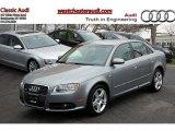 2008 Quartz Grey Metallic Audi A4 2.0T quattro Sedan #47705256