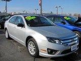 2010 Brilliant Silver Metallic Ford Fusion S #47767461