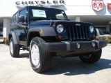 2011 Black Jeep Wrangler Sport S 4x4 #47767477