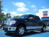2011 Dark Blue Pearl Metallic Ford F150 XLT SuperCrew #47767049