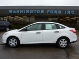 2012 Oxford White Ford Focus S Sedan #47767281