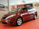 2011 Salsa Red Pearl Toyota Sienna LE #47767745