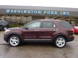 2011 Bordeaux Reserve Red Metallic Ford Explorer Limited 4WD #47767286