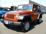 2011 Mango Tango Pearl Jeep Wrangler Sport 4x4 #47767538