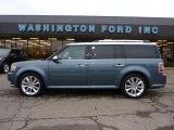 2010 Steel Blue Metallic Ford Flex Limited EcoBoost AWD #47767304