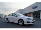 2011 White Platinum Tri-Coat Ford Fusion Sport #47767128
