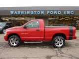 2005 Flame Red Dodge Ram 1500 SLT Regular Cab 4x4 #47767313