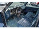 1994 Chevrolet C/K K1500 Z71 Regular Cab 4x4 Blue Interior