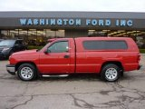 2007 Victory Red Chevrolet Silverado 1500 Classic Work Truck Regular Cab #47767317