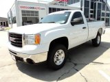 2007 Summit White GMC Sierra 2500HD SLE Regular Cab 4x4 #47767346
