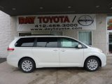 2011 Blizzard White Pearl Toyota Sienna Limited AWD #47766932