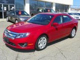 2010 Red Candy Metallic Ford Fusion SE #47767166