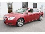 2008 Red Jewel Tint Coat Chevrolet Malibu LT Sedan #47766956