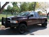 2004 Deep Molten Red Metallic Dodge Ram 3500 SLT Quad Cab 4x4 Dually #47767194