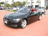 2008 Black Sapphire Metallic BMW 3 Series 335i Convertible #47766987