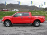 2011 Race Red Ford F150 XLT SuperCrew 4x4 #47766988