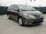 2011 Predawn Gray Mica Toyota Sienna Limited #47767213