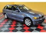 2002 Steel Blue Metallic BMW 3 Series 325xi Wagon #47767427