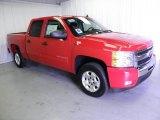 2011 Victory Red Chevrolet Silverado 1500 LT Crew Cab #47767449