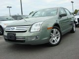 2009 Moss Green Metallic Ford Fusion SEL V6 #47831260