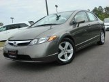 2006 Galaxy Gray Metallic Honda Civic LX Sedan #47831263