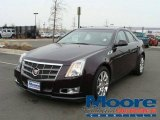 2009 Black Cherry Cadillac CTS Sedan #4765622