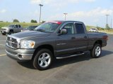 2007 Mineral Gray Metallic Dodge Ram 1500 Big Horn Edition Quad Cab 4x4 #47831374