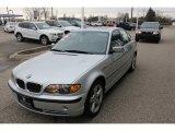 2004 Titanium Silver Metallic BMW 3 Series 330xi Sedan #47831307