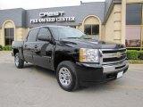 2009 Black Chevrolet Silverado 1500 LS Crew Cab #47831409