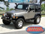 2006 Light Khaki Metallic Jeep Wrangler Rubicon 4x4 #47831528